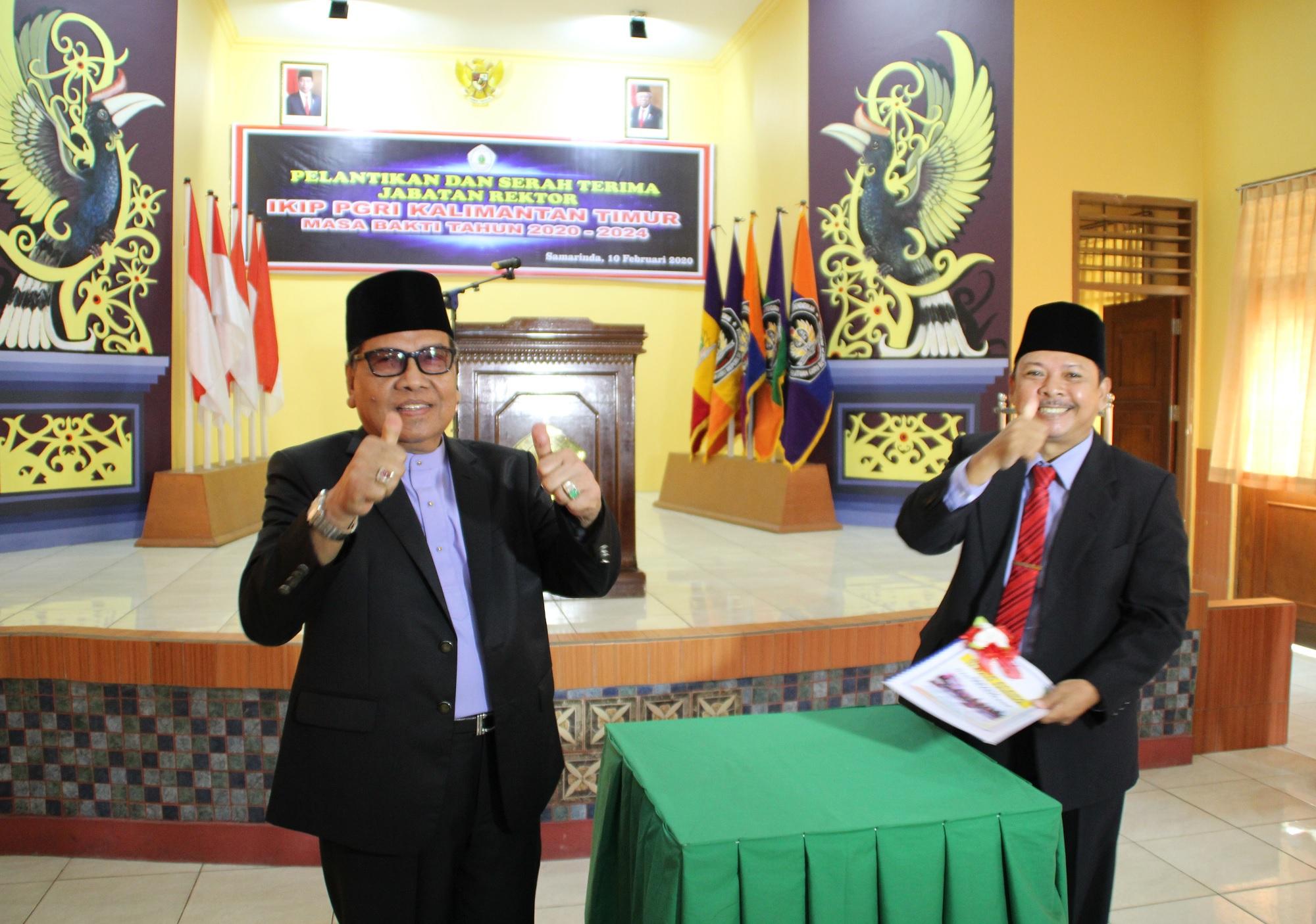 PELANTIKAN REKTOR IKIP PGRI KALIMANTAN TIMUR MASA bHAKTI 2020-2024