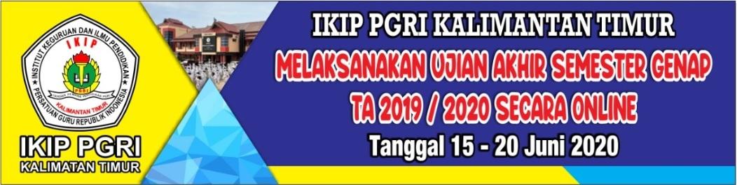 Pandemi Corona belum berakhir, IKIP PGRI Kalimantan Timur Gelar UAS online